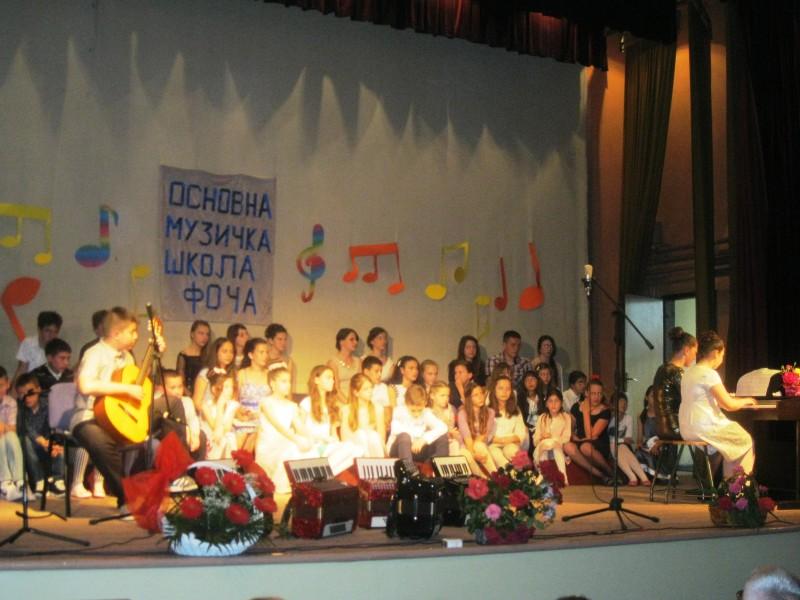 Održan koncert učenika osnovne muzičke škole