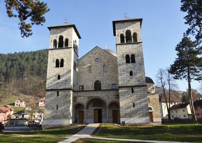 Uređenje hrama Svetog Save