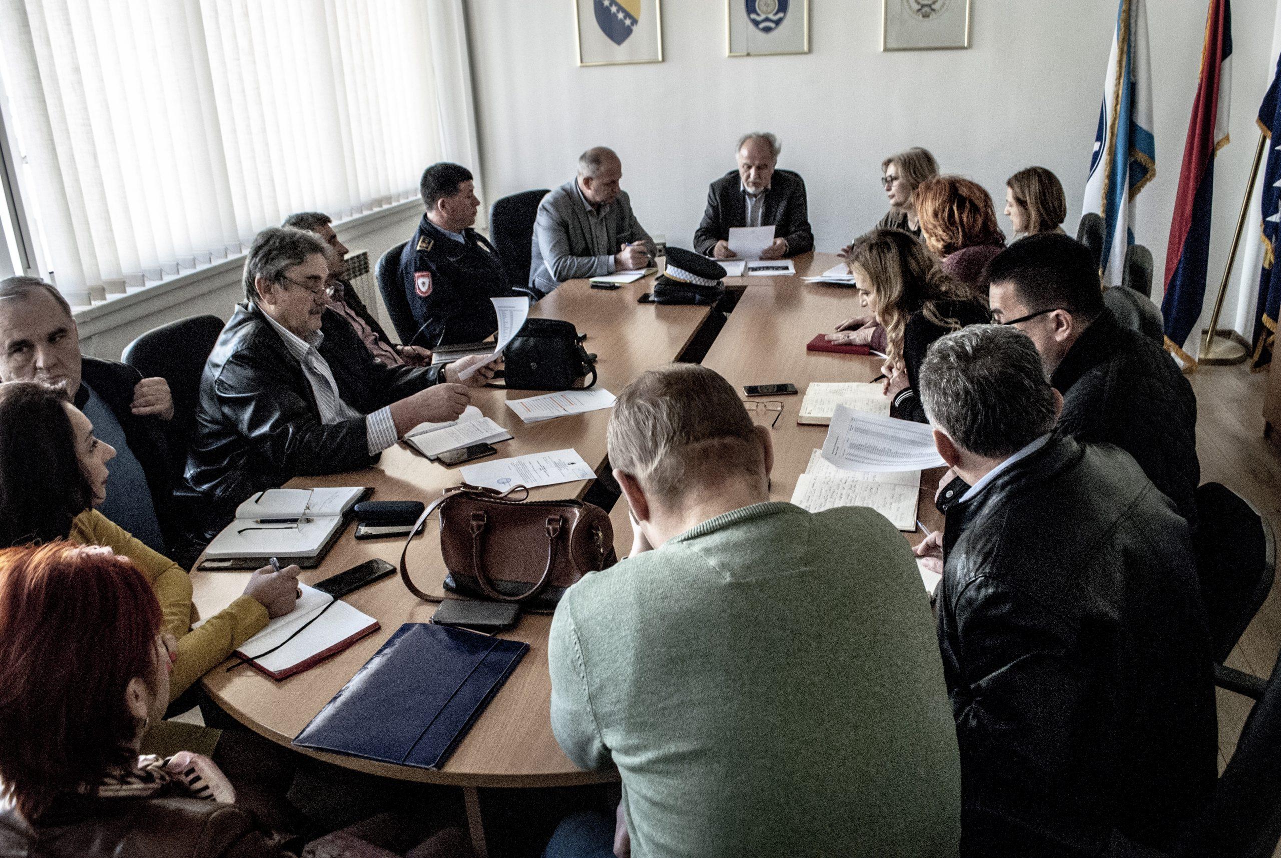 Наредба Штаба за ванредне ситуације општине Фоча