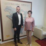Начелник Вукадиновић разговарао са министарком финансија о инфраструктурним пројектима у Фочи