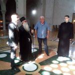 Општина и Црква заједно уређују околину Храма Светог Саве