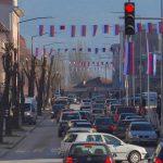 Foča okićena trobojkama uoči rođendana Srpske