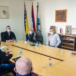 Састанак са представницима удружења проистеклих из Одбрамбено-отаџбинског рата