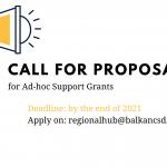 BCSDN позив за подношење приједлога – Подршка организацијама цивилног друштва  za ad-hoc грантове