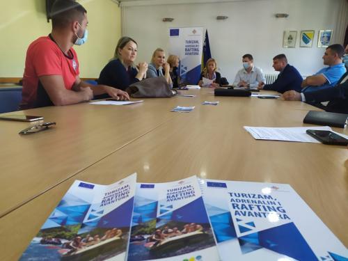 Održan šesti koordinacioni sastanak službi spasavanja iz Foče i Plužina (1)